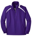 Purple Zip Wind Shirt
