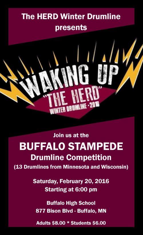 DrumlineHomeshowPoster2016